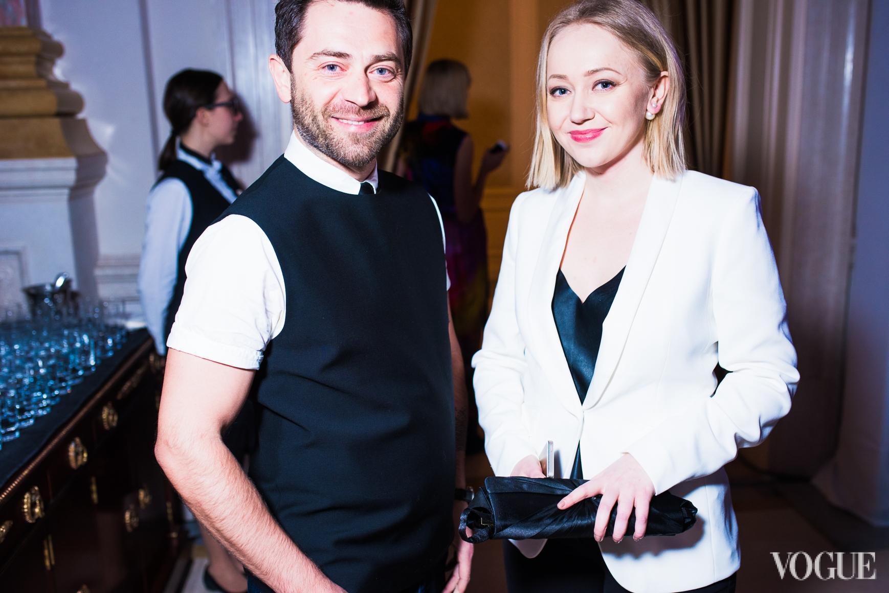 Сергей Калинин и Ксения Тюрикова