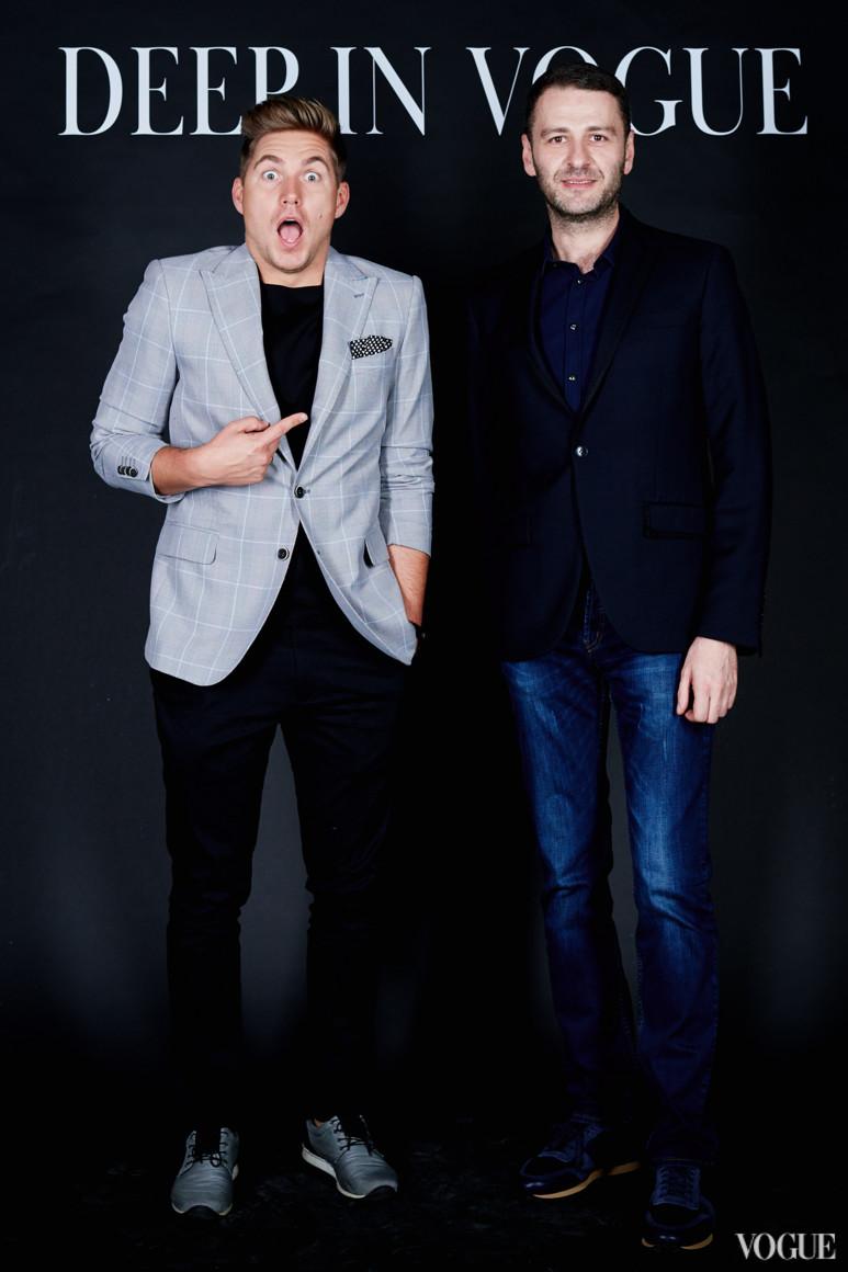 Владимир Остапчук и Сергей Перман