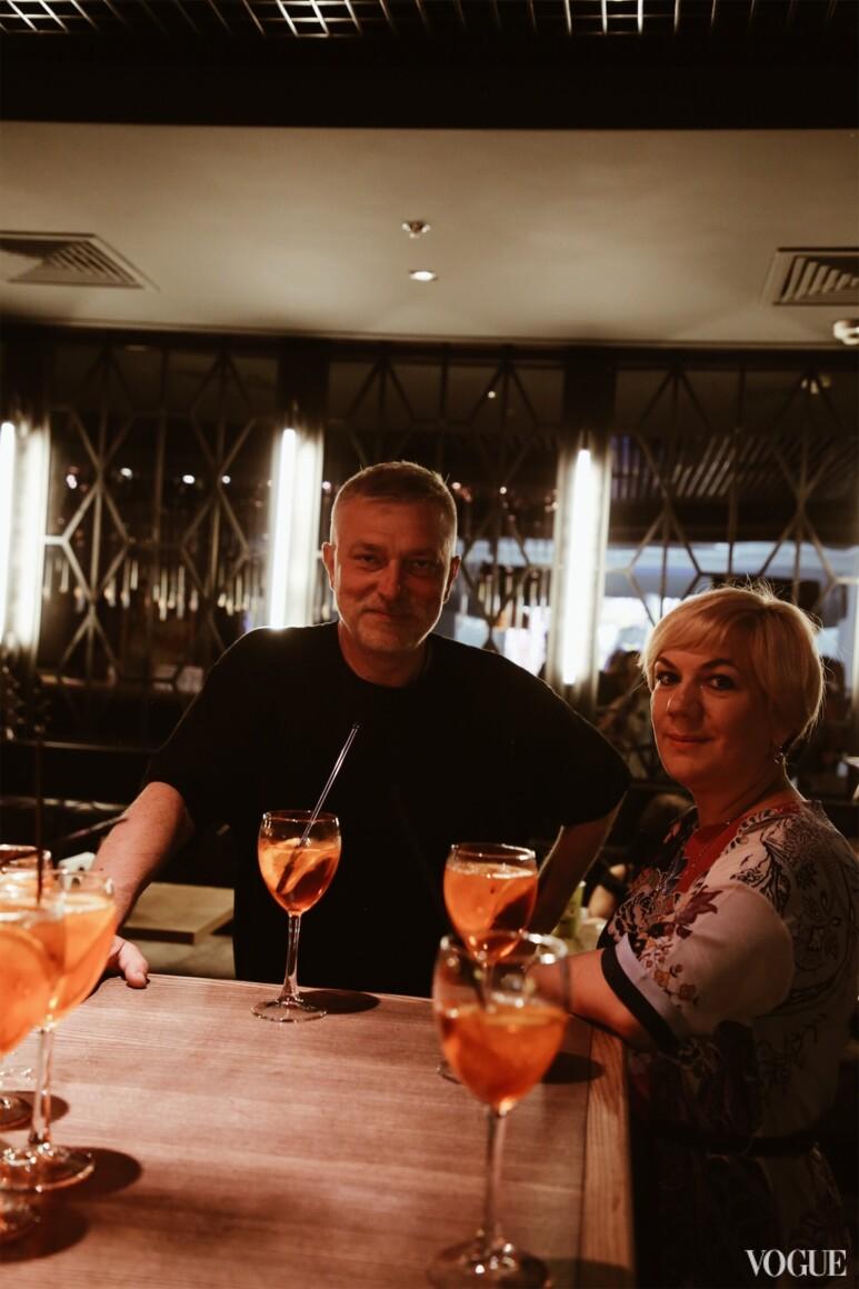 Сергей Созановский и Ирина Заря