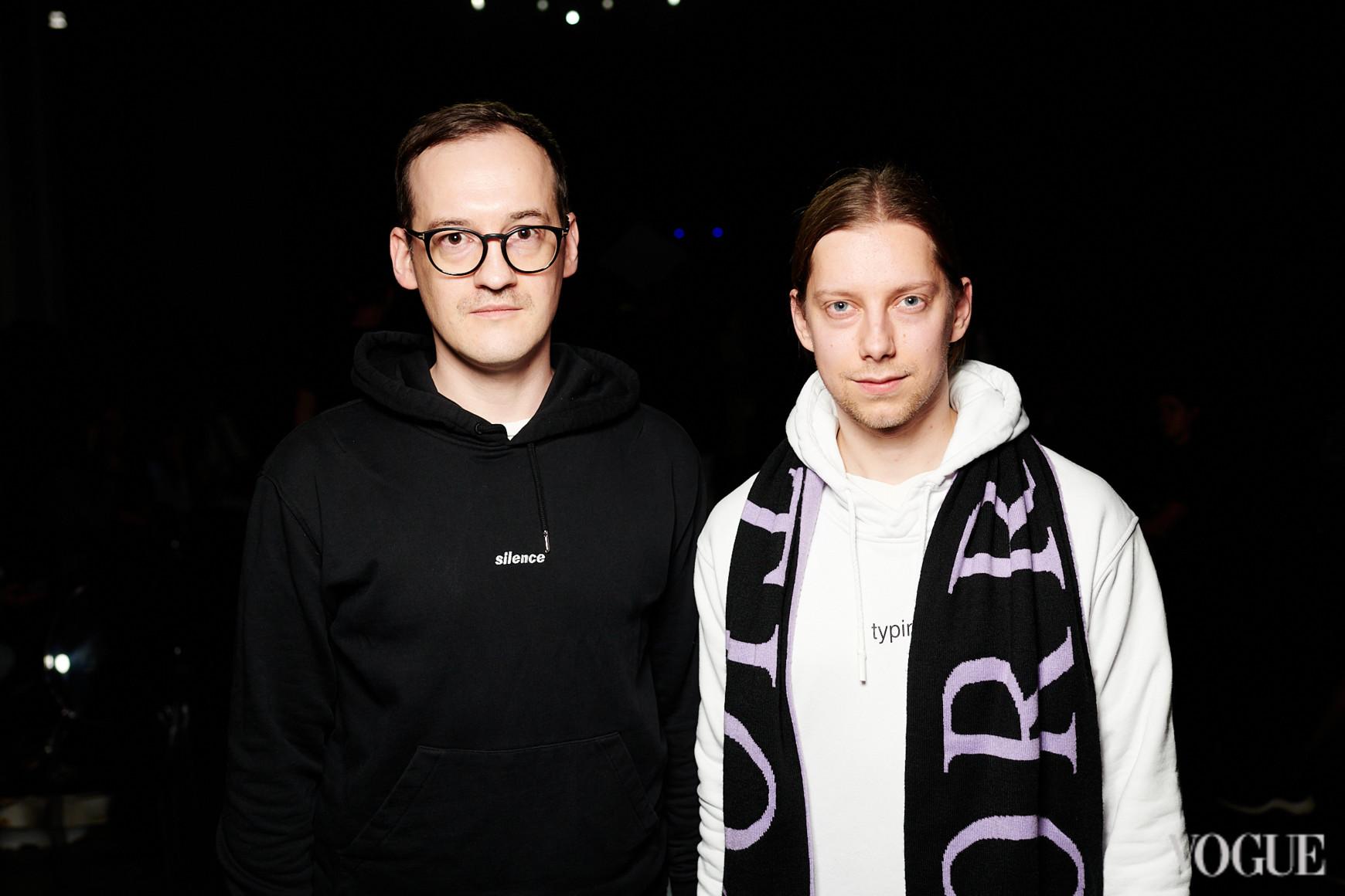 Антон Еременко (справа)