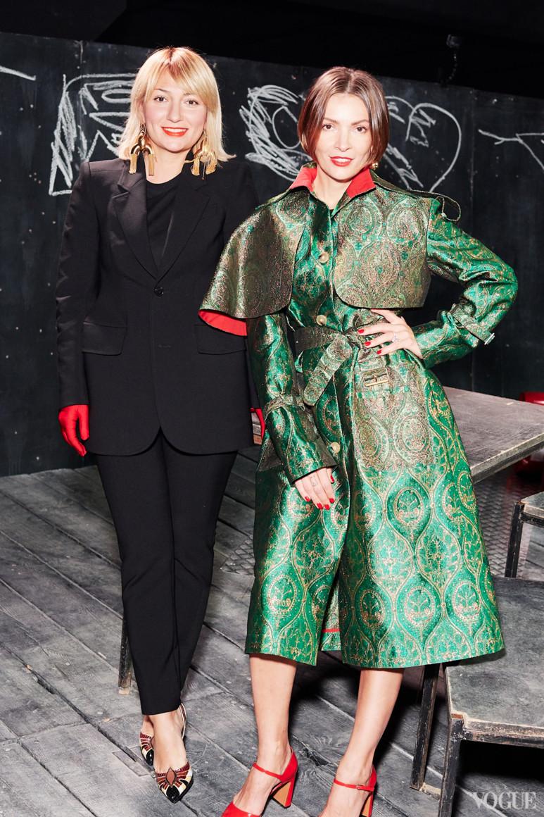 Ася Мхитарян и Полина Неня
