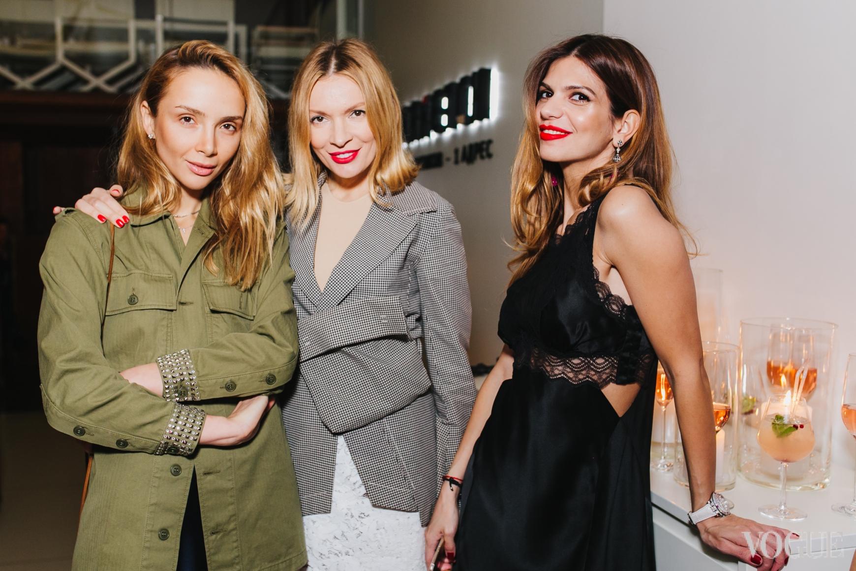 Алена Беттяр, Полина Неня и Алина Алиева