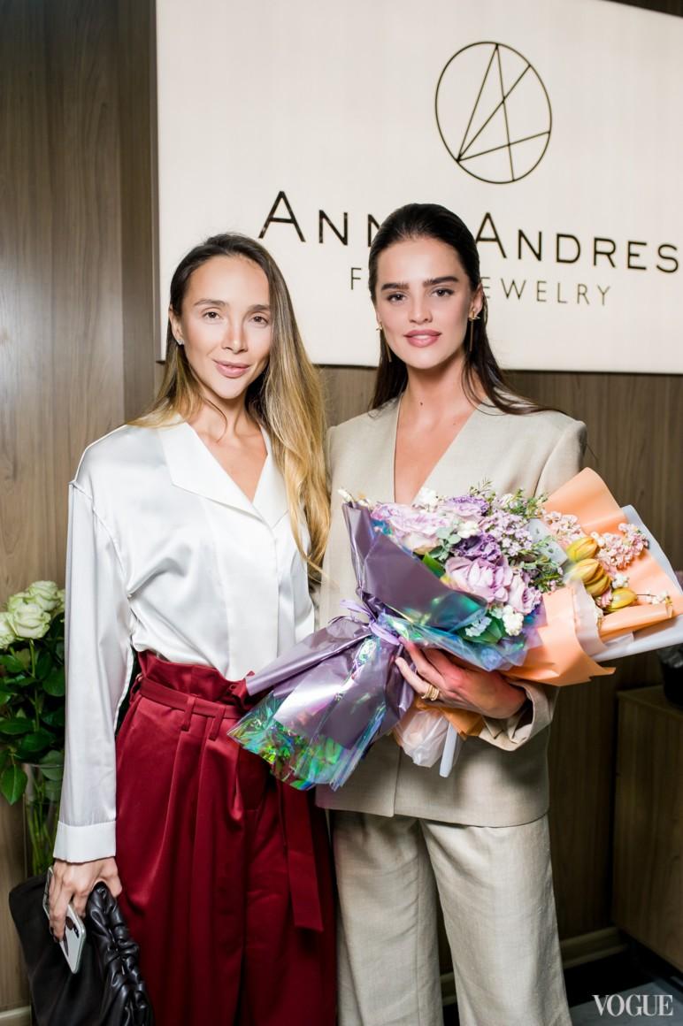 Алена Беттяр и Анна Андрес