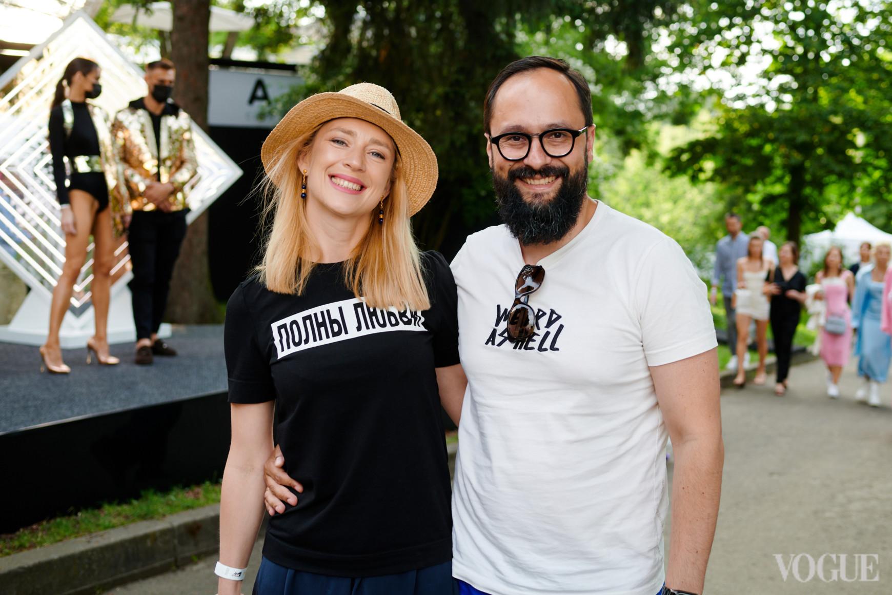 Мария и Евгений Гусовские