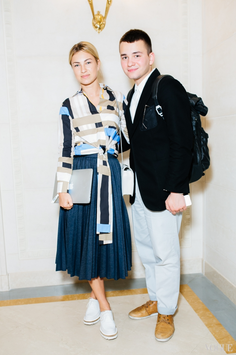 Яна Бучко и Иван Фролов