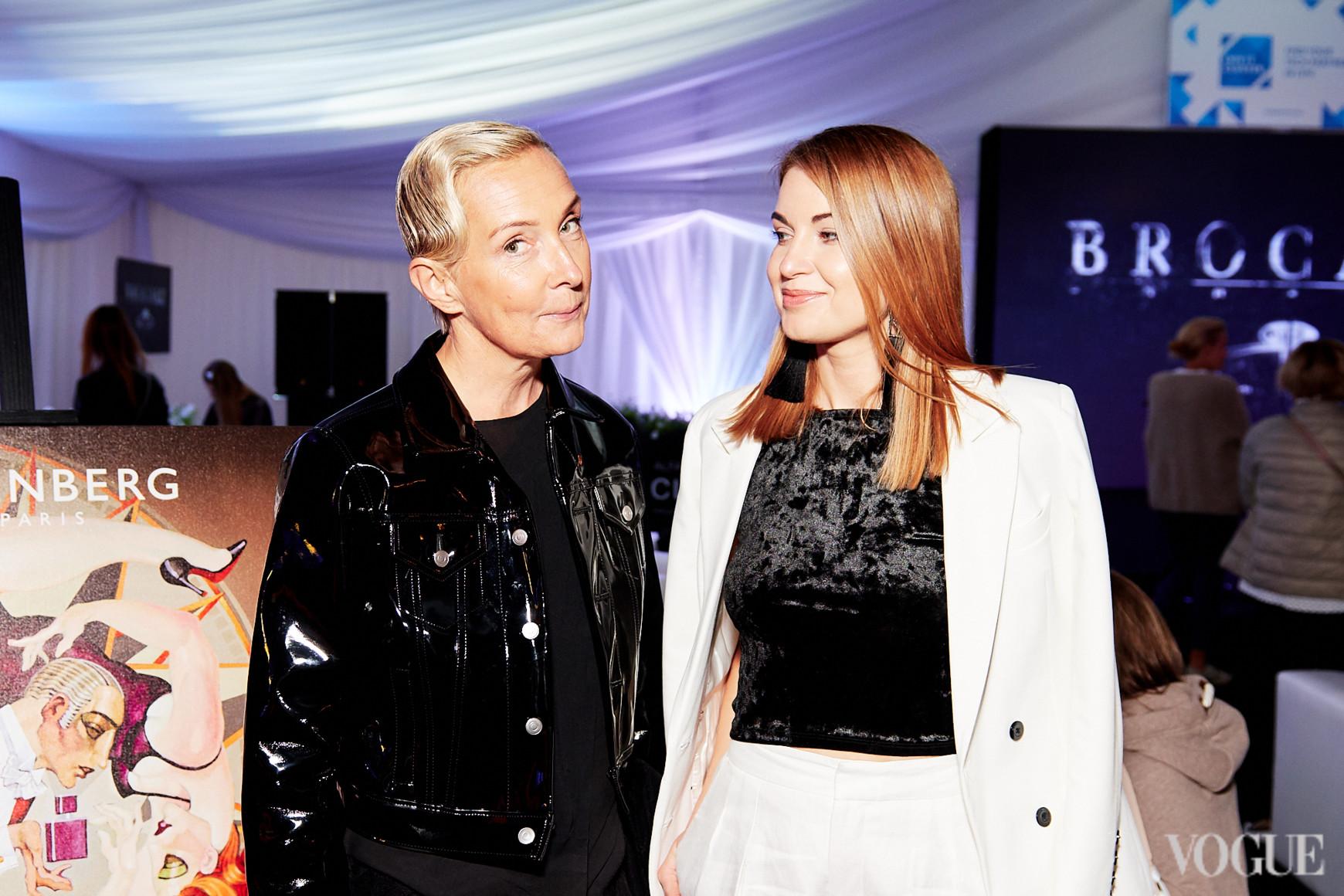 Тетяна Полякова та Олена Добринська