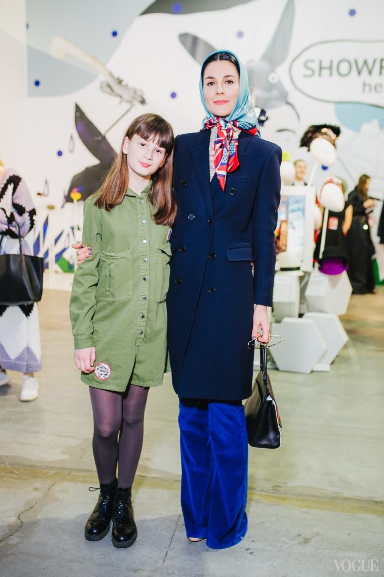 Маша Ефросинина и Нана Хромаева
