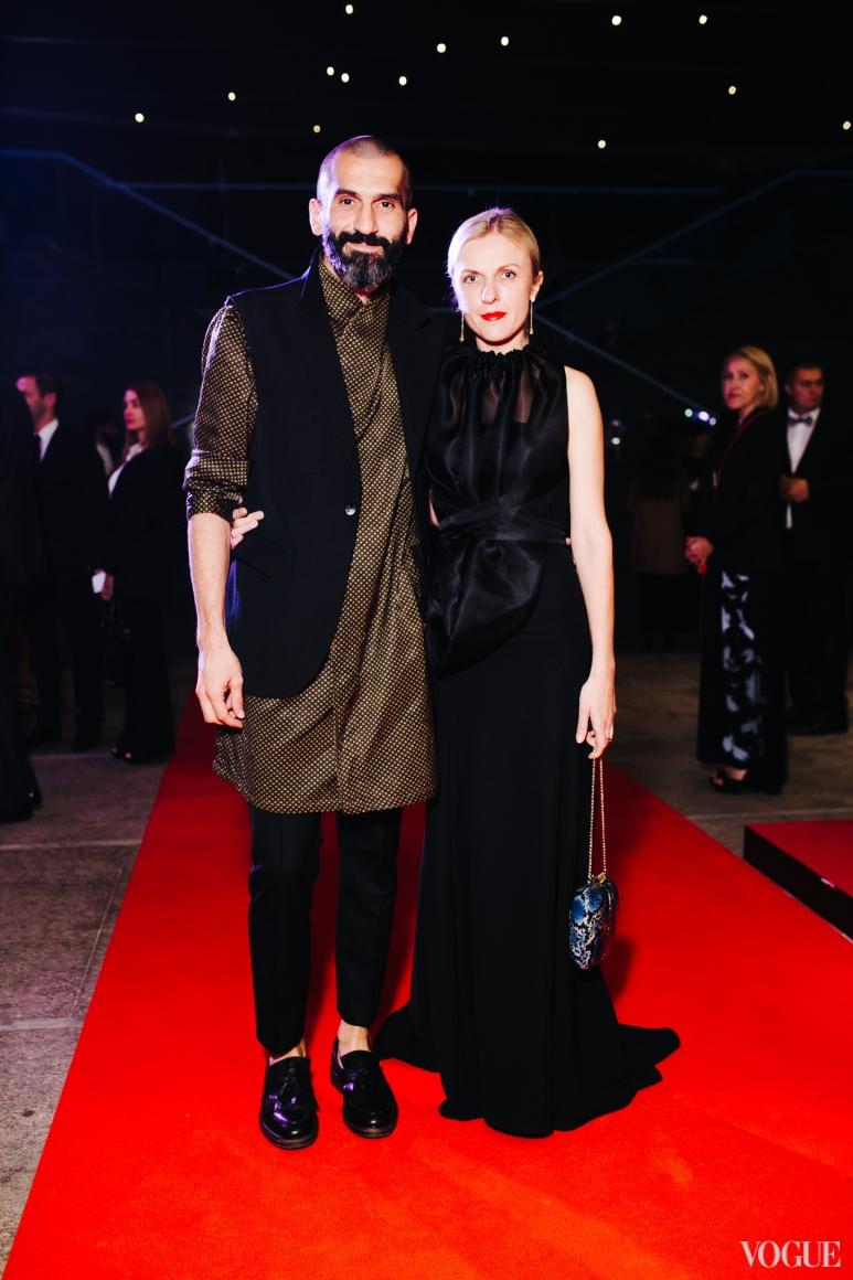 Валерий Топал и Юлия Костецкая