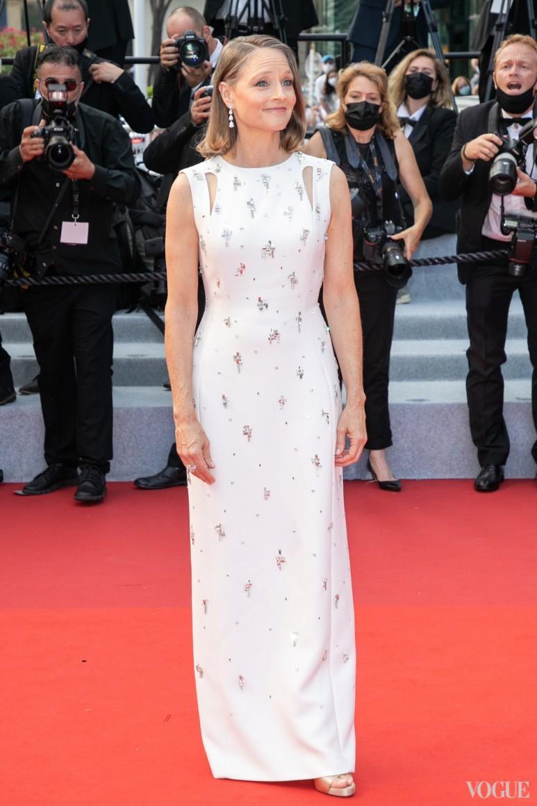 Джоди Фостер в Givenchy и в украшениях Chopard