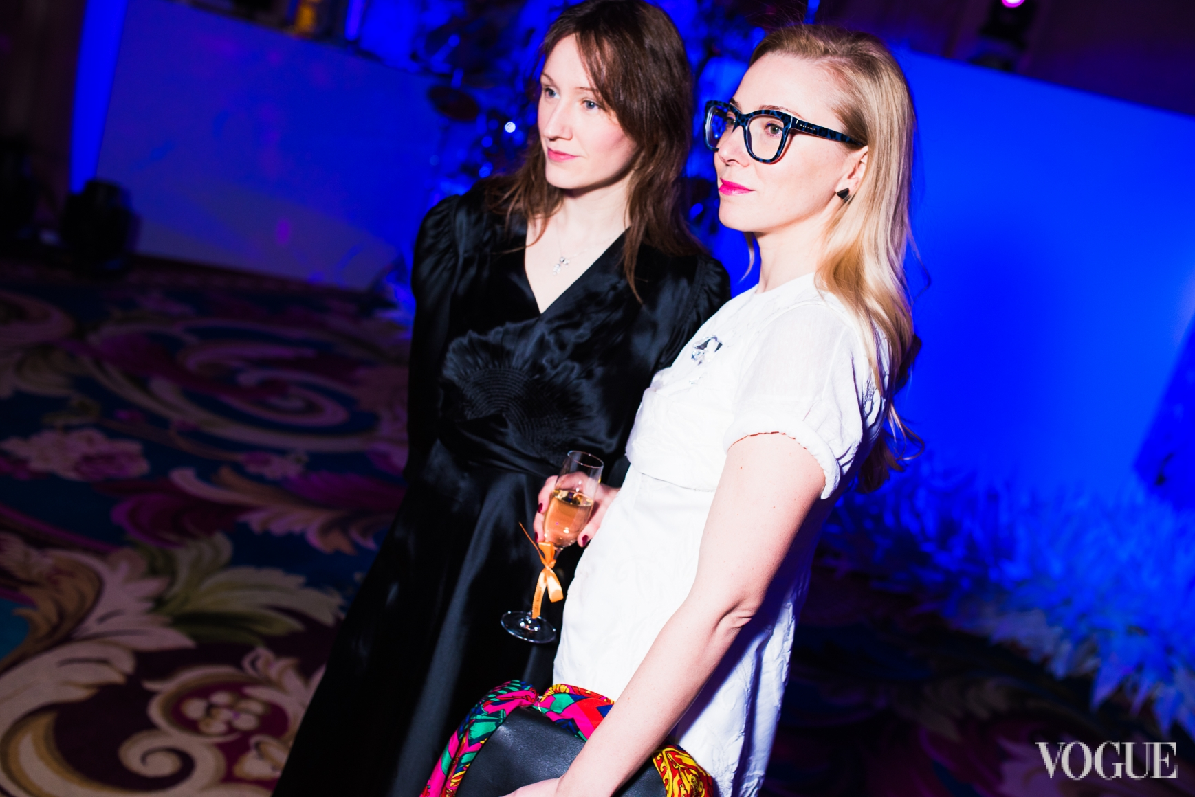 Василина Врублевская и Ирина Каравай
