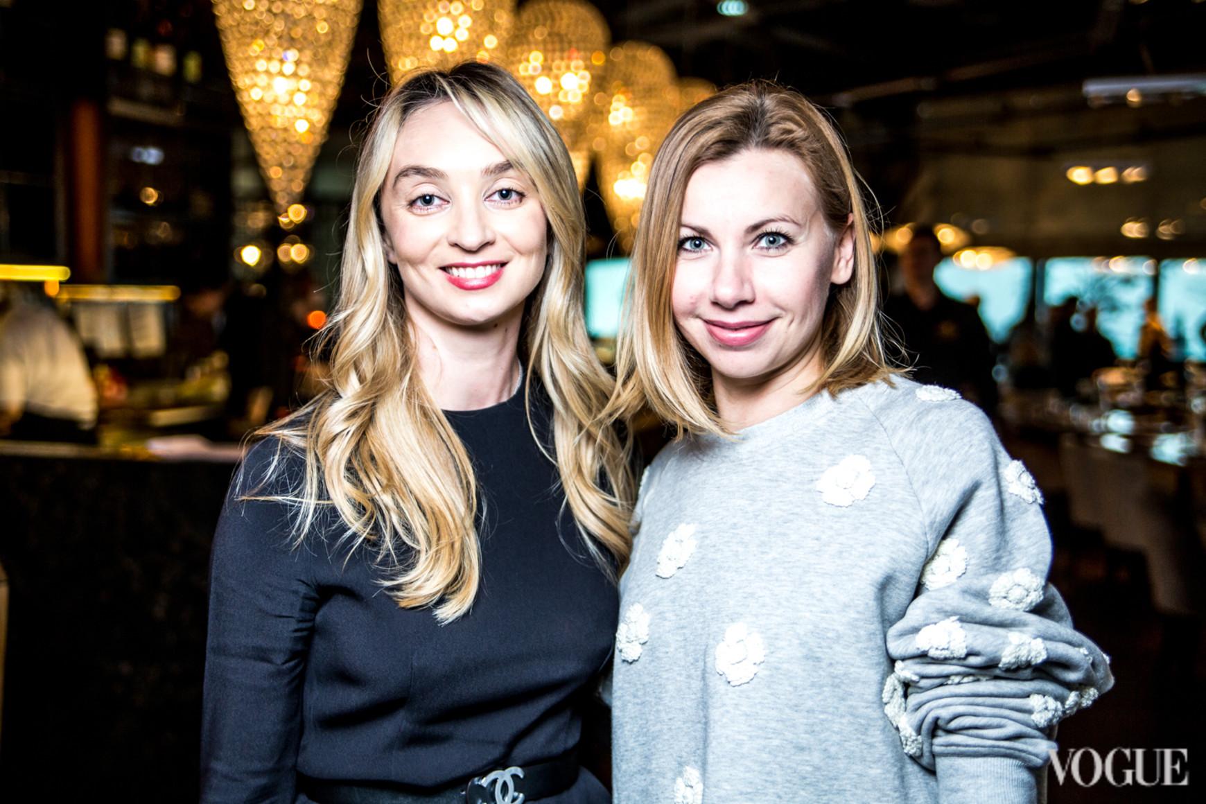 Ольга Чуприна (справа)
