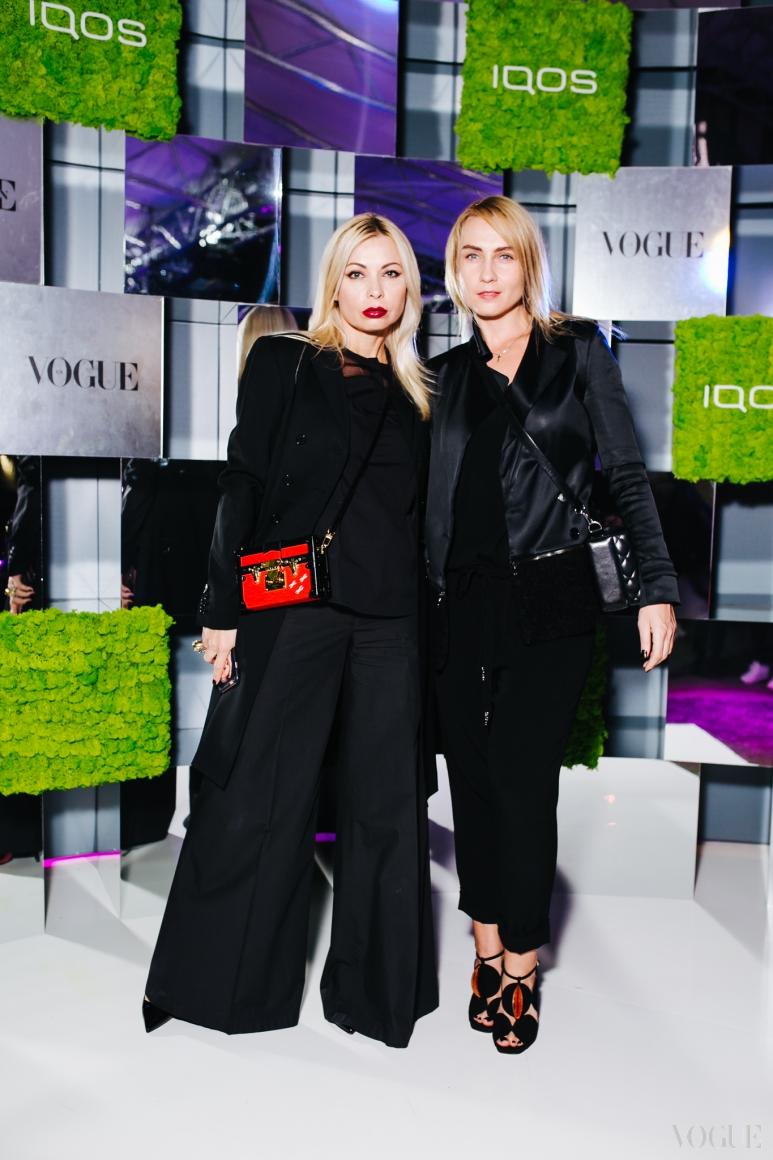 Ирина Павлова (слева)