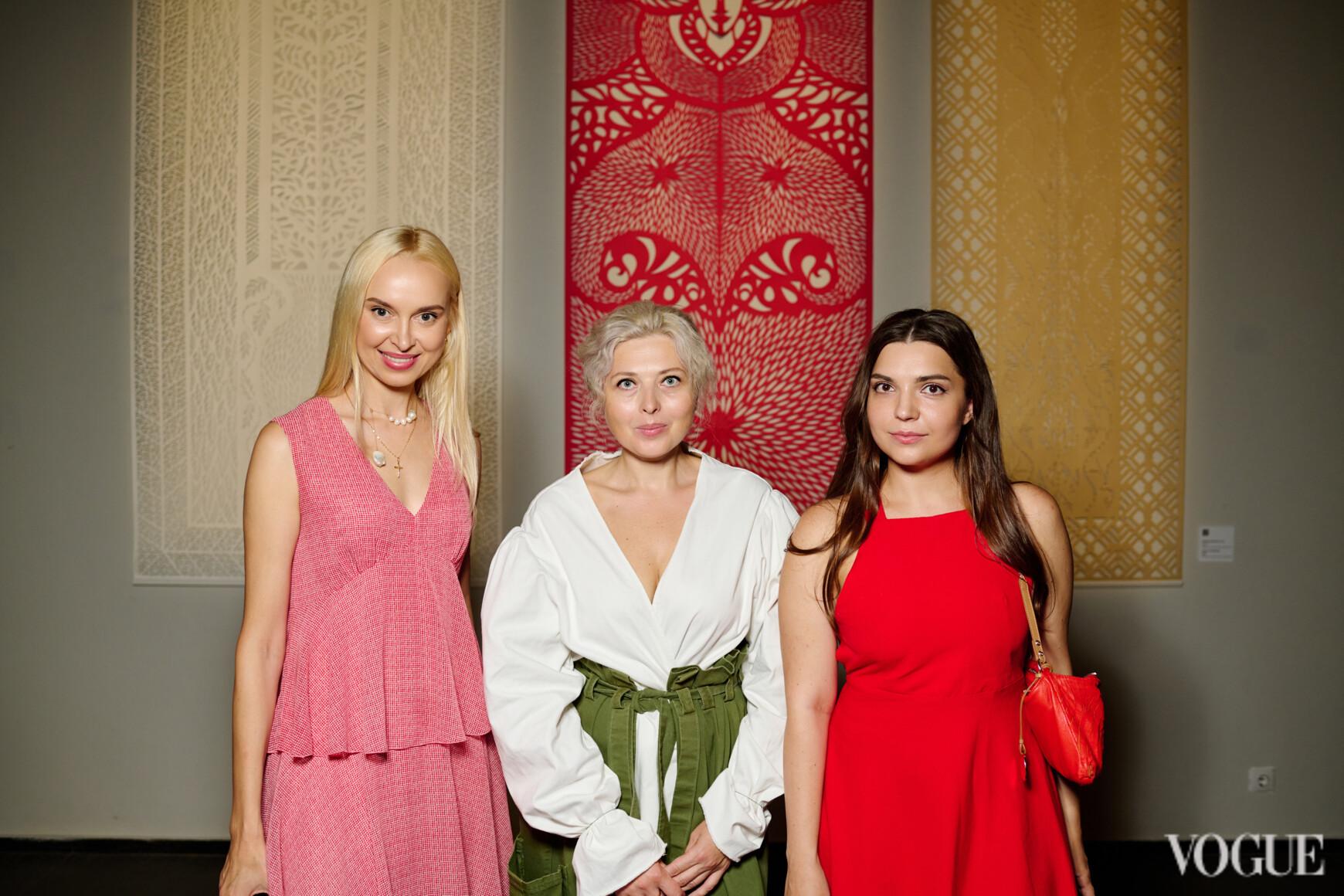 Наталья Шпитковская, Дарья Алешкина и Светлана Старостенко