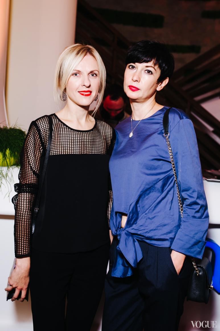Юлия Костецкая и Виолетта Скодорова