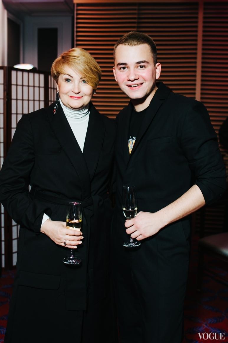 Ирина Данилевская и Иван Фролов