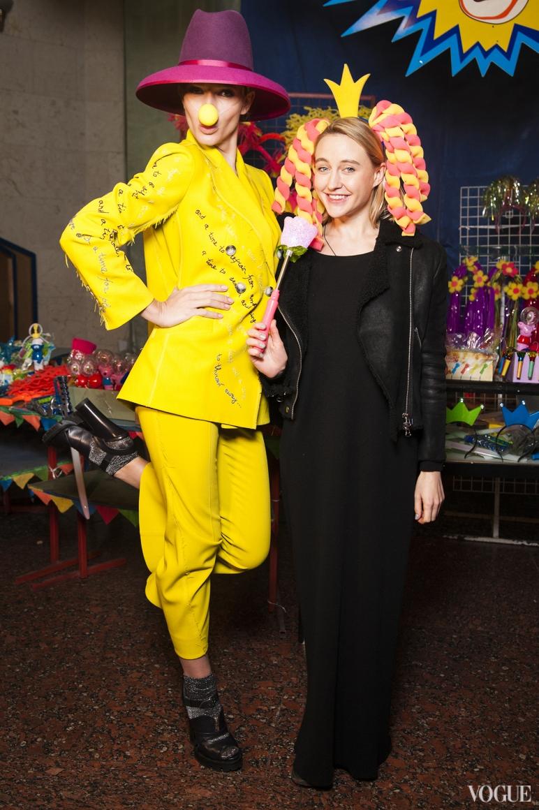 Катя Осадчая и Ева Бушмина