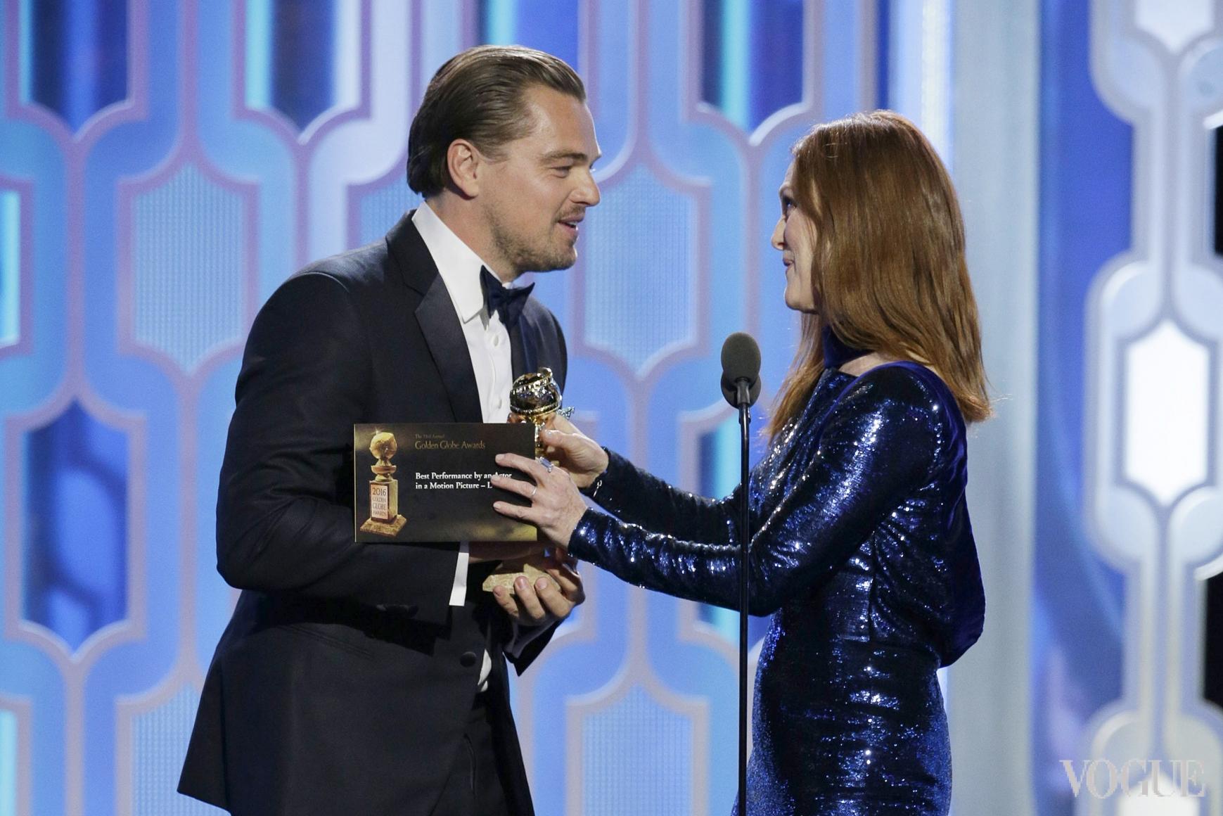 Леонардо Ди Каприо и Джулианна Мур