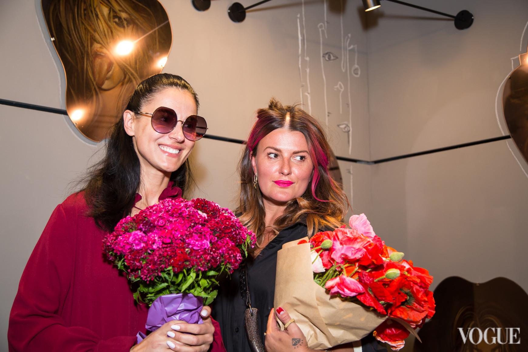 Маша Ефросинина и Маша Шубина