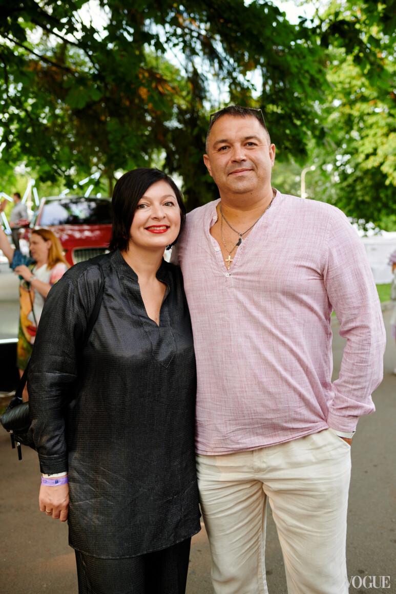 Кристина Бобкова с мужем