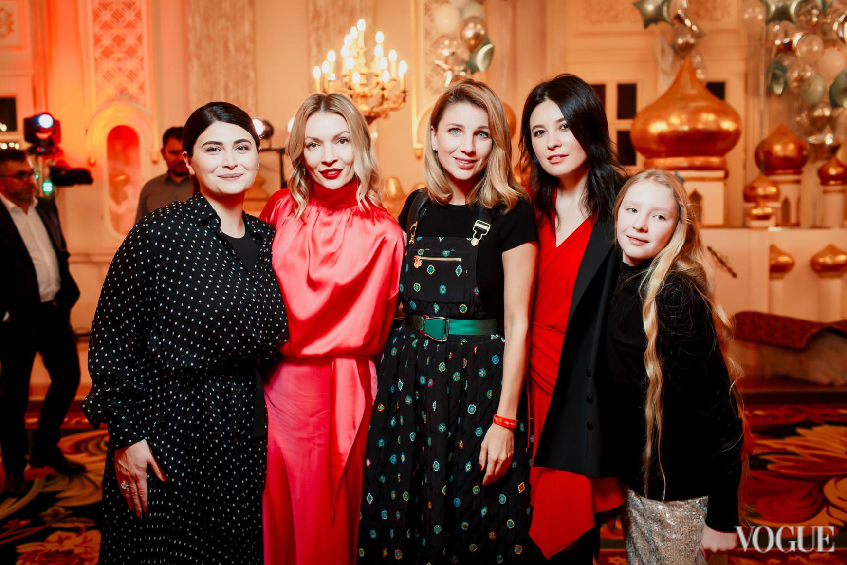 Нина Васадзе, Полина Неня, Катя Сильченко и Елена Рева