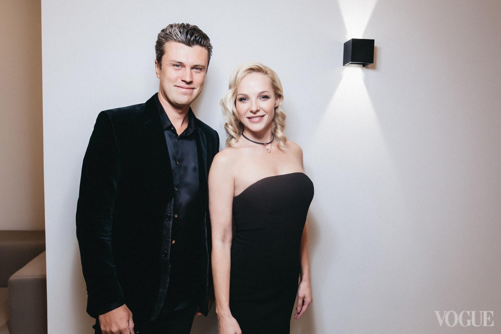 Евгений Хмара и Дарья Трегубова