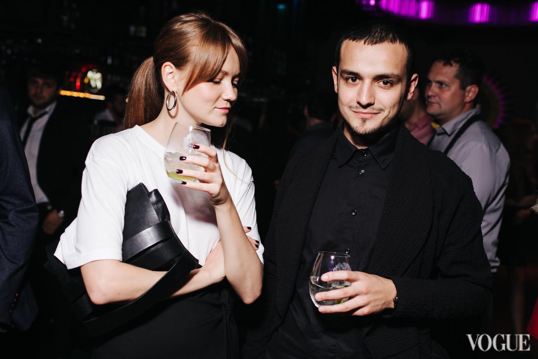 Али Саулиди и Ольга Шаповалова
