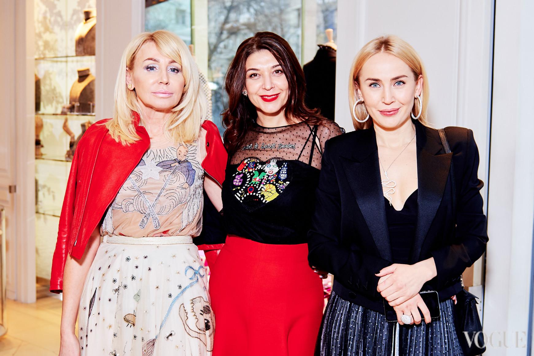 Алена Лебедь, Ольга Дашкиева и Ирина Скляр