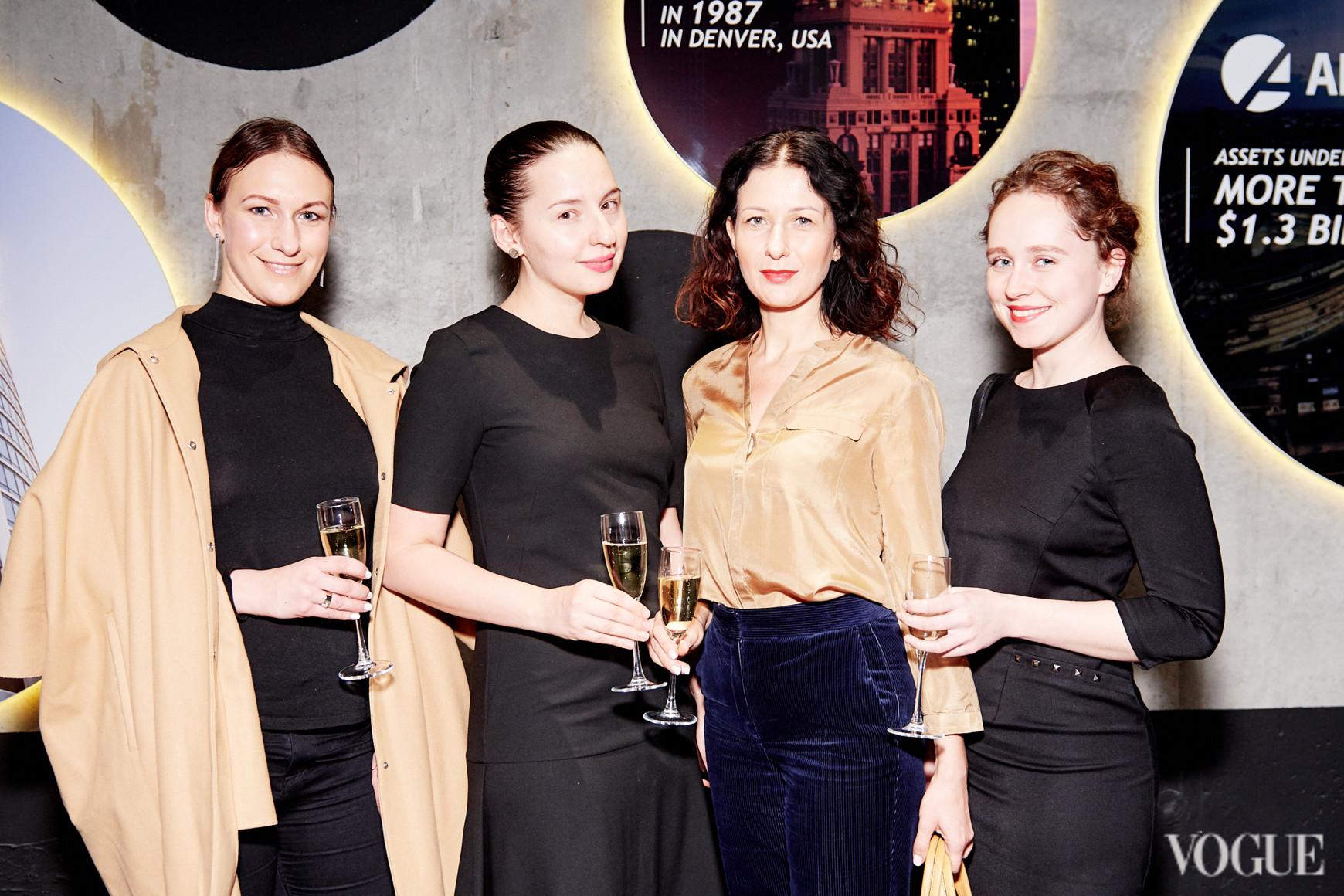 Дарья Слободяник, Виолетта Федорова, Светлана Рощук и Ирина Володько