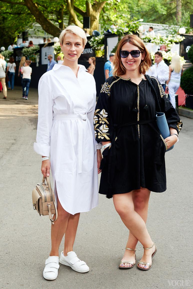 Маша Цуканова и Алена Пономаренко