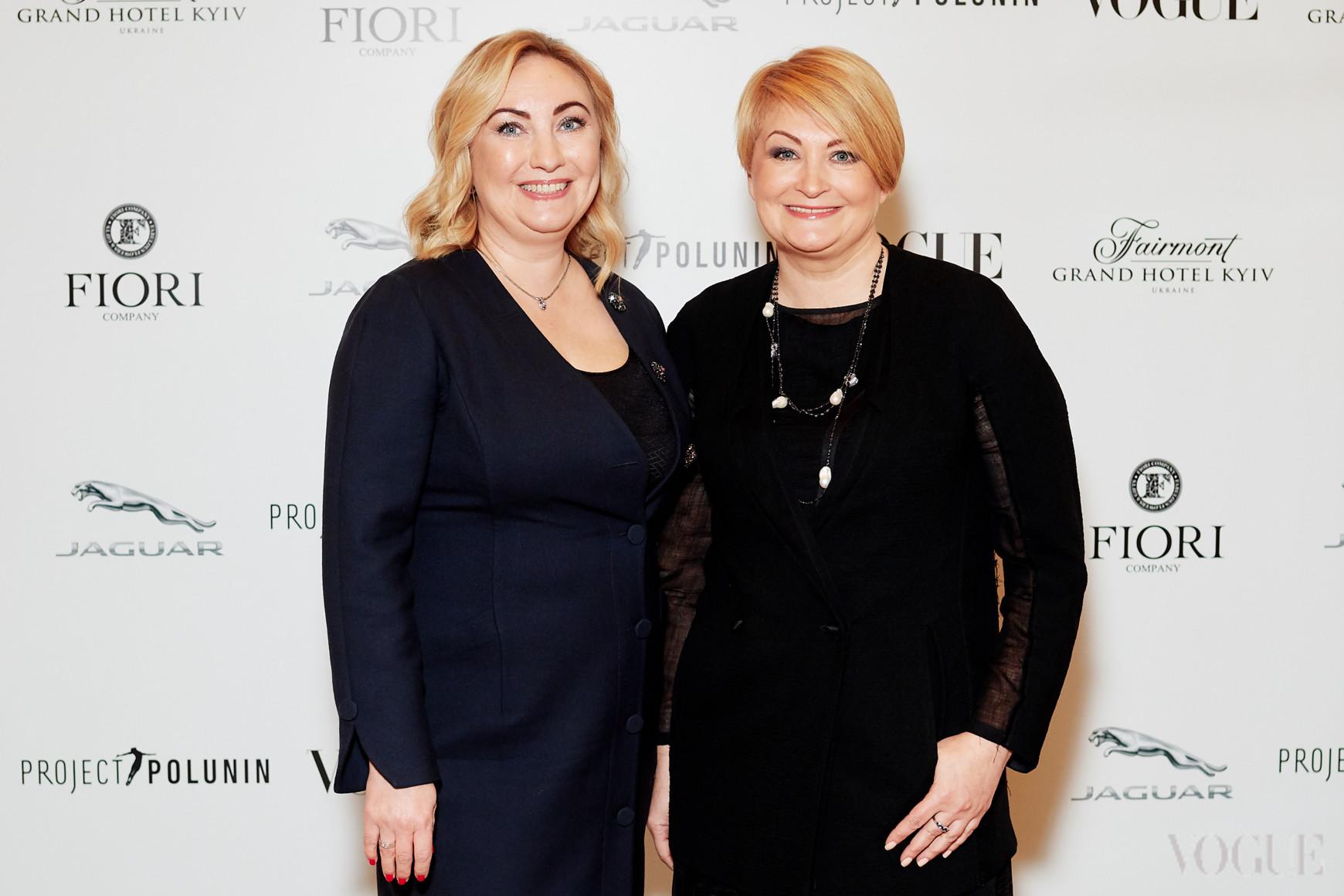 Елена Чернова и Ирина Данилевская