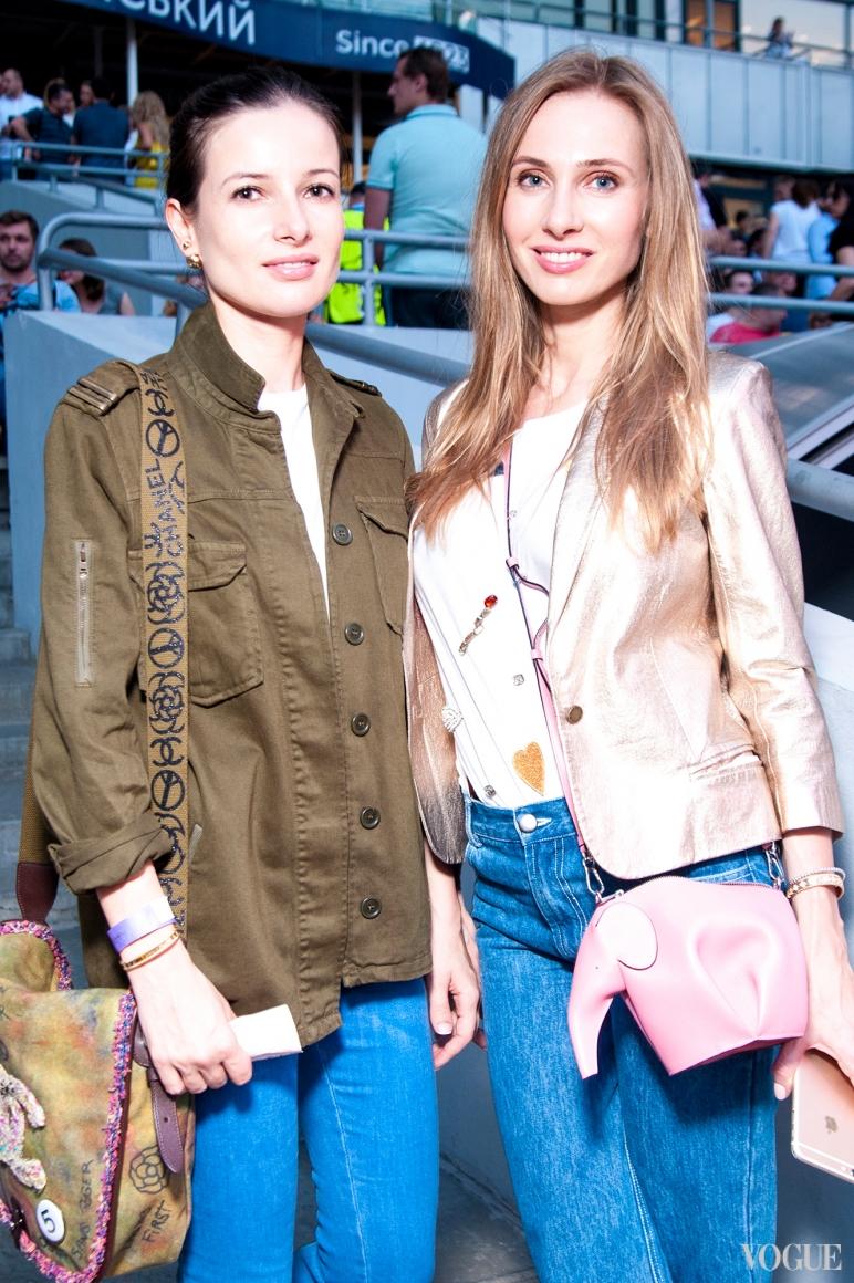 Полина Габович и Наталья Череп