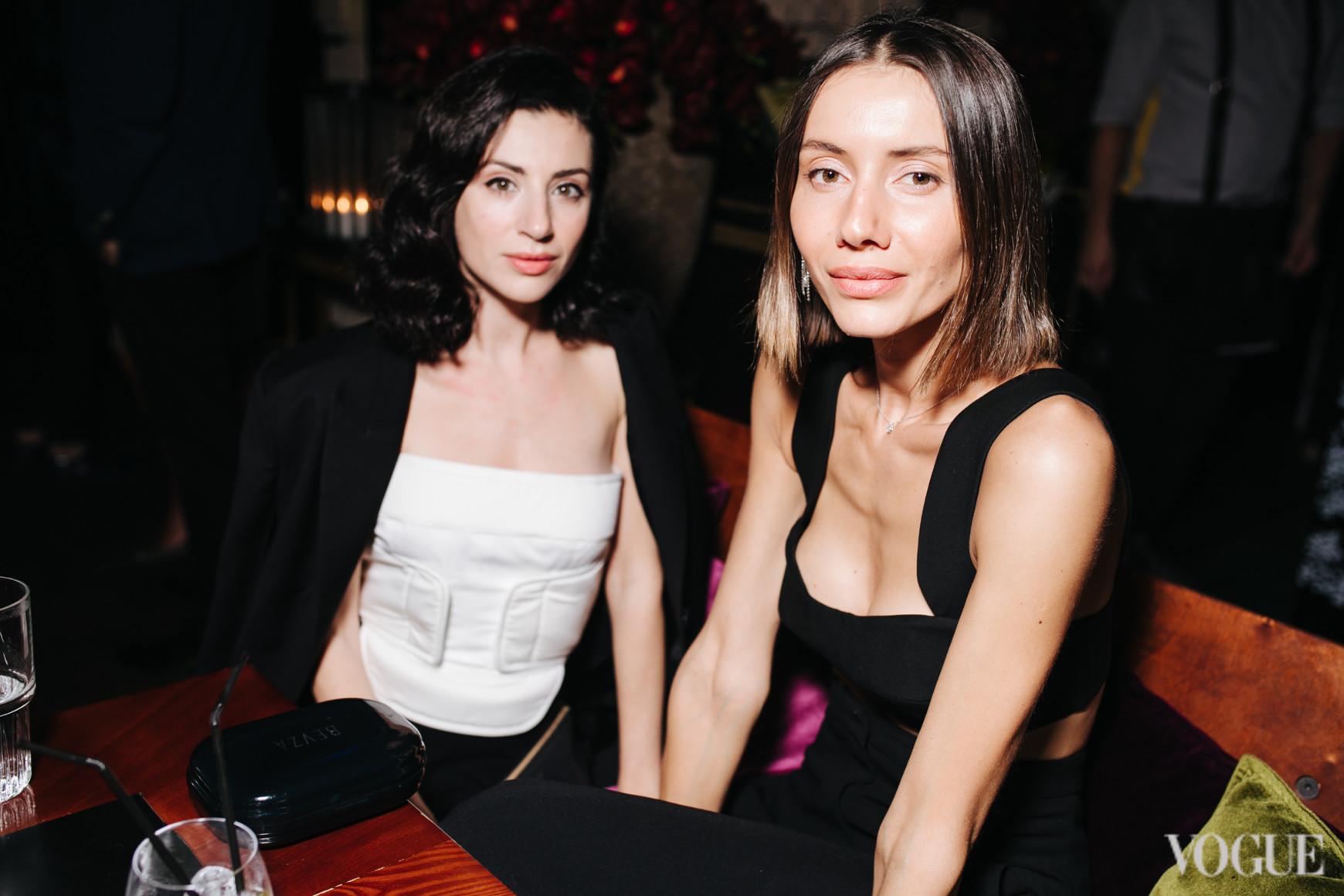 Светлана Бевза и Юлия Пелипас