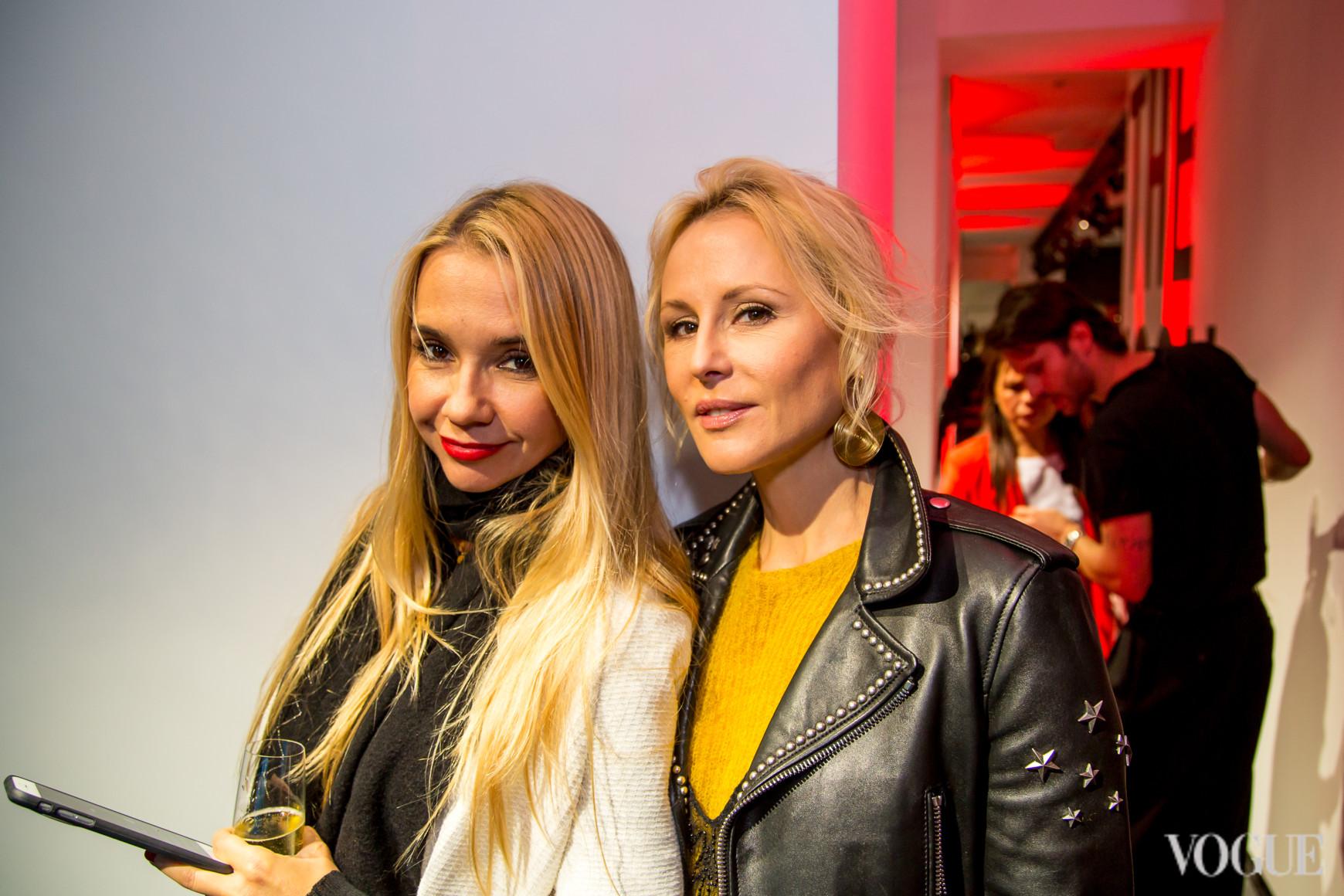 Ирина Турбаевская и Елена Примак
