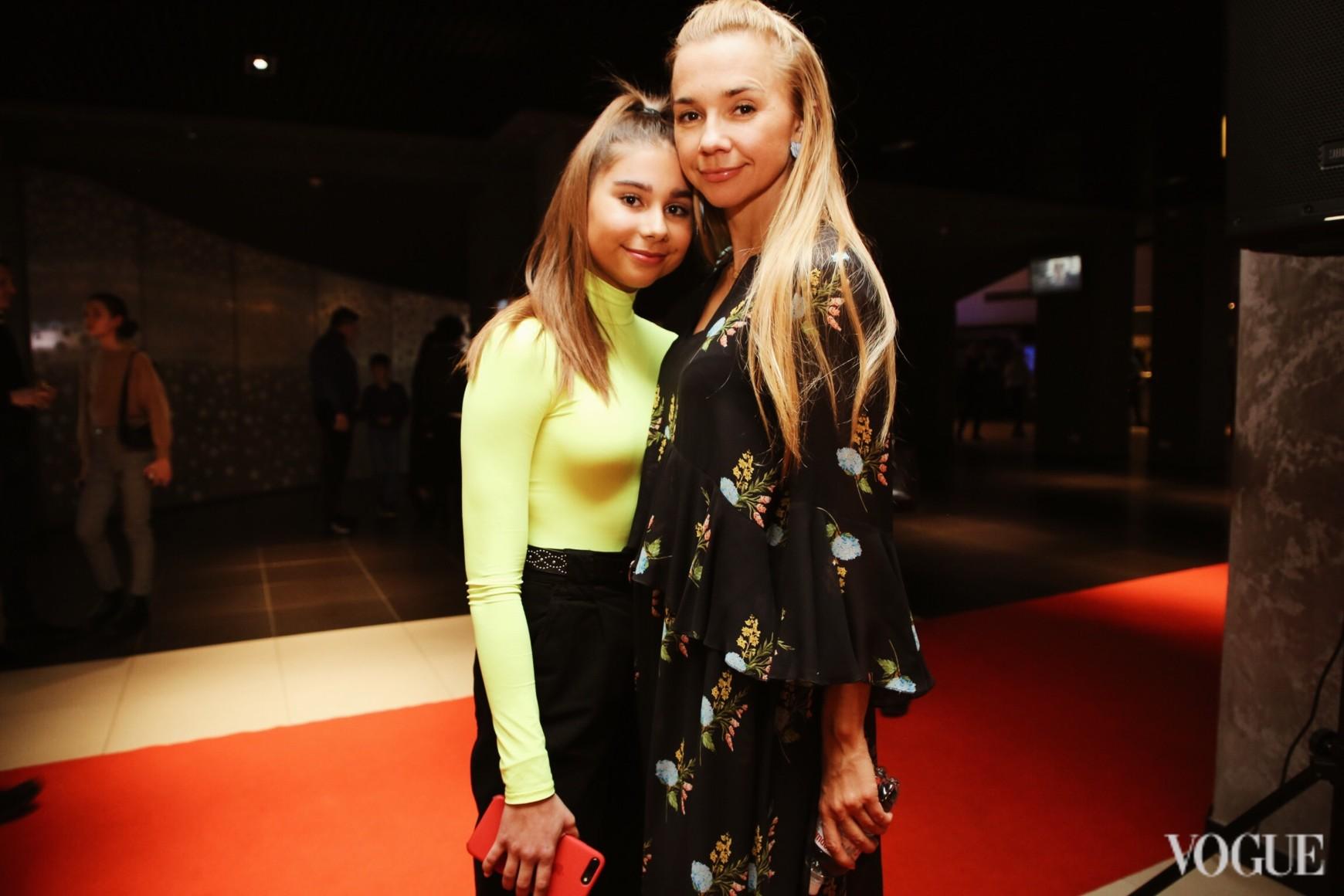 Ирина Турбаевская с дочерью