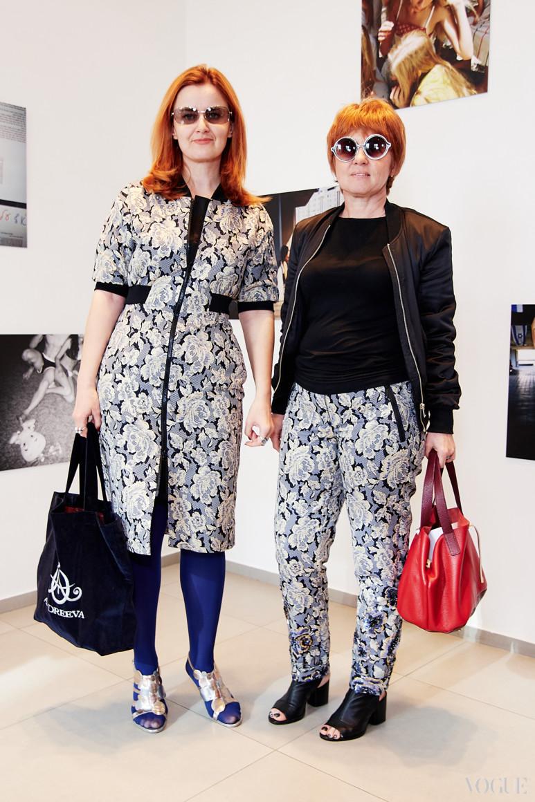 Ольга Андреева (справа)