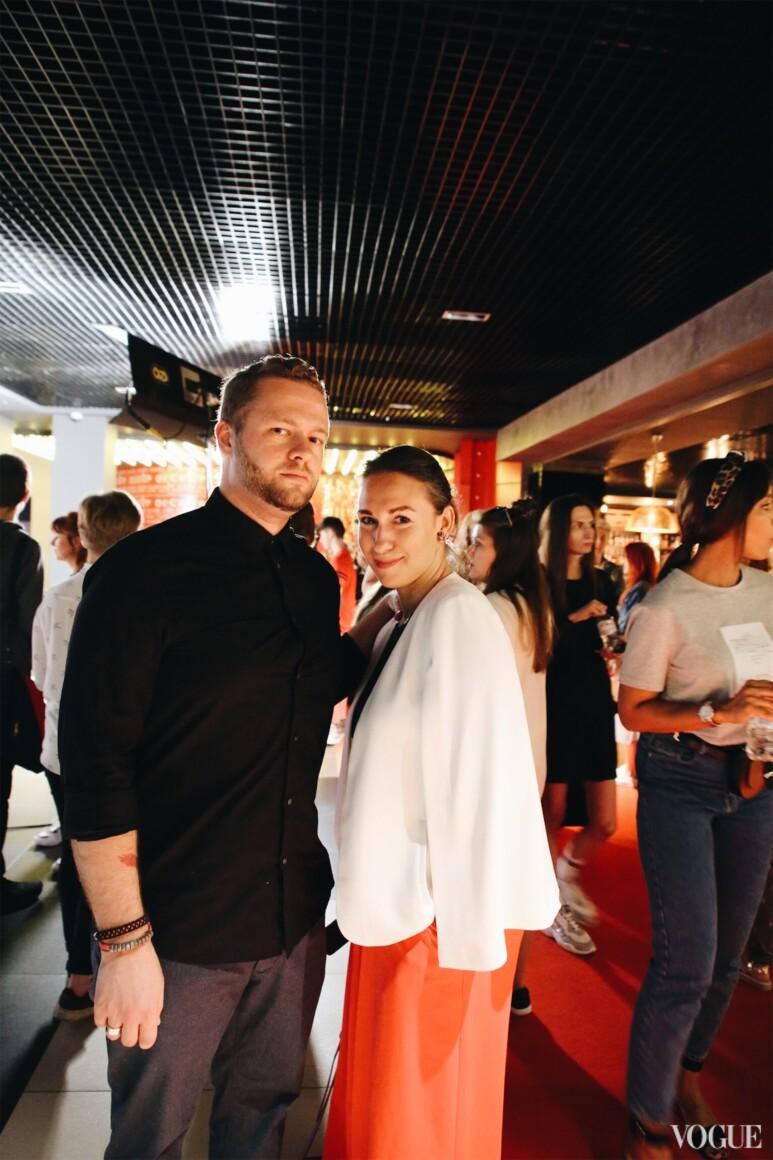 Андрей Ковалев и Дарья Слободяник