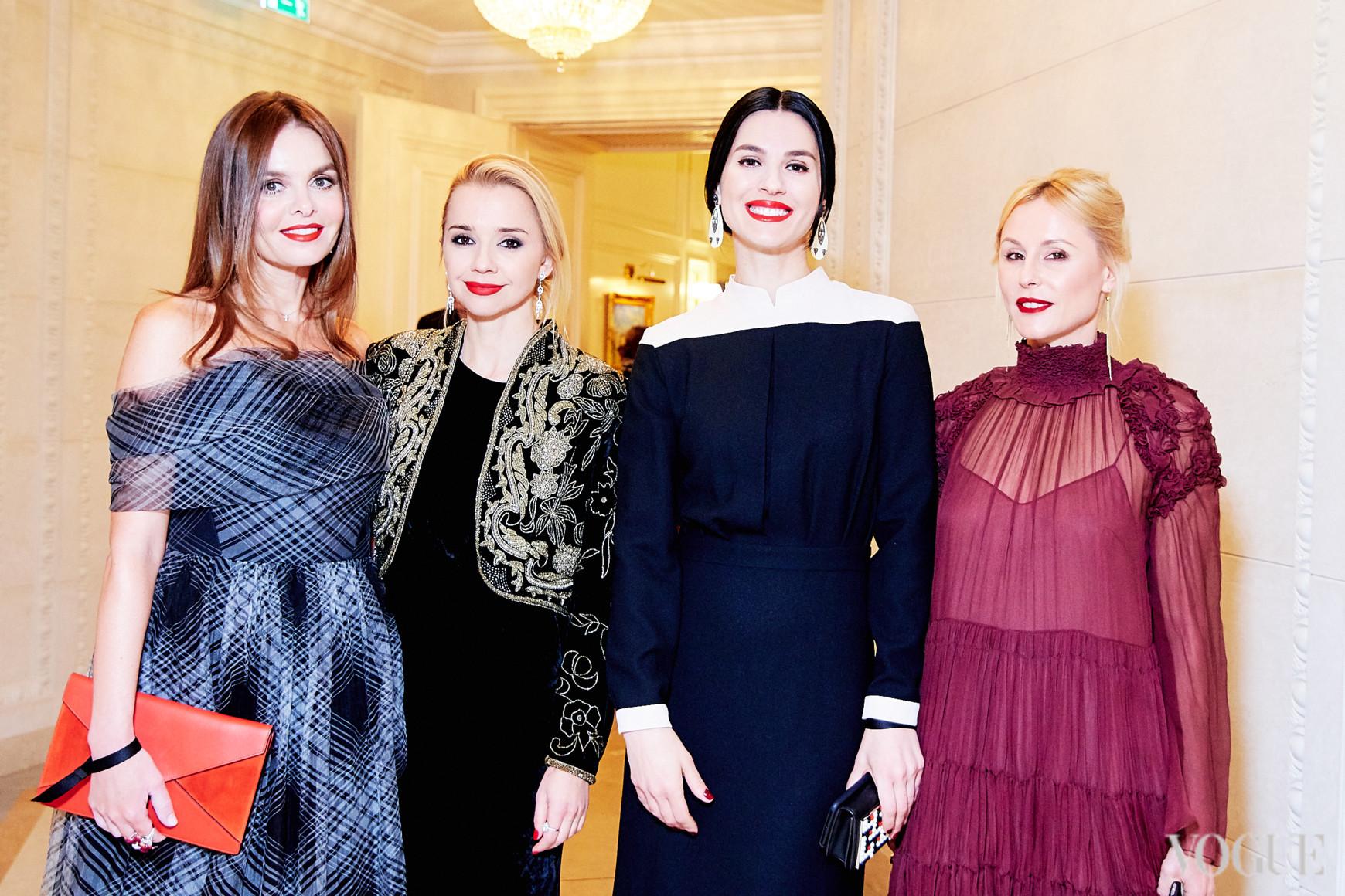 Ольга Олексенко, Ирина Турбаевская, Маша Ефросинина и Елена Примак