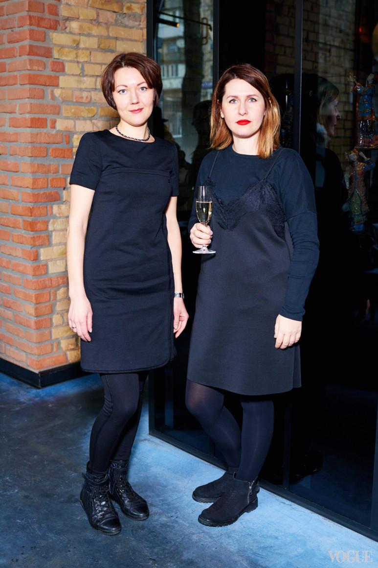 Анна Василенко и Алена Пономаренко