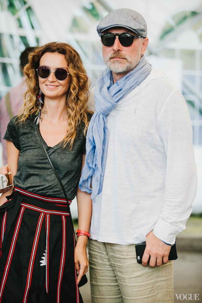 Ирина Костюк и Владимир Созановский