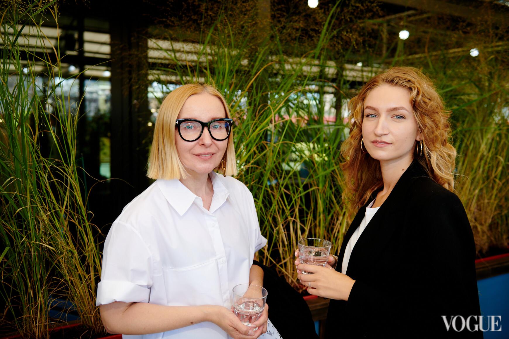 Анна Земскова и Катерина Попова