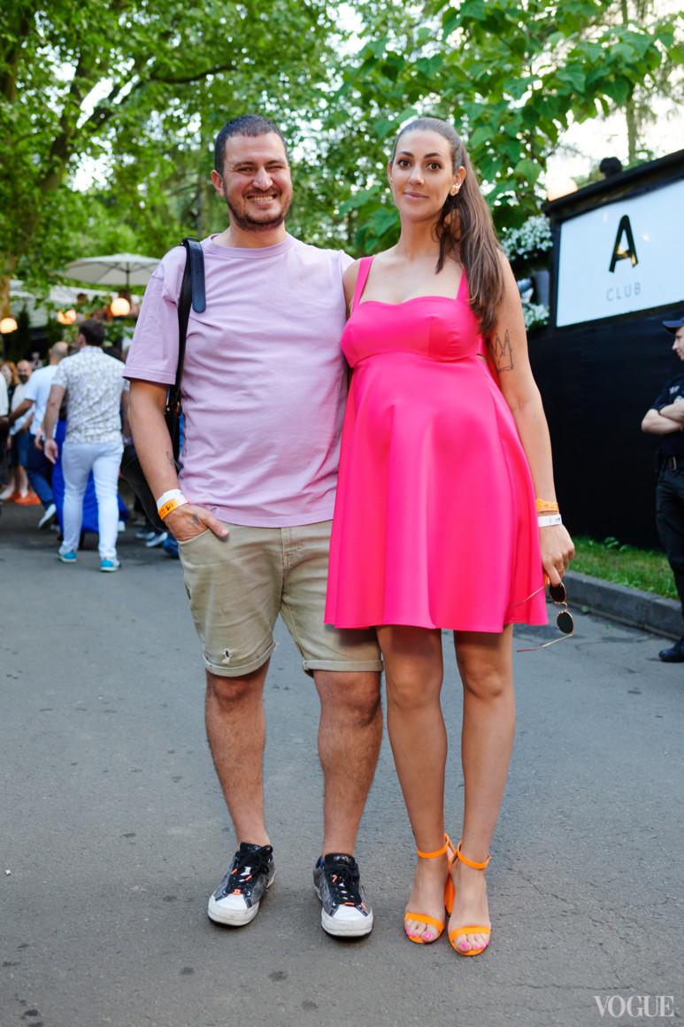 Владимир Ташаев и Ольга Рыдвановская