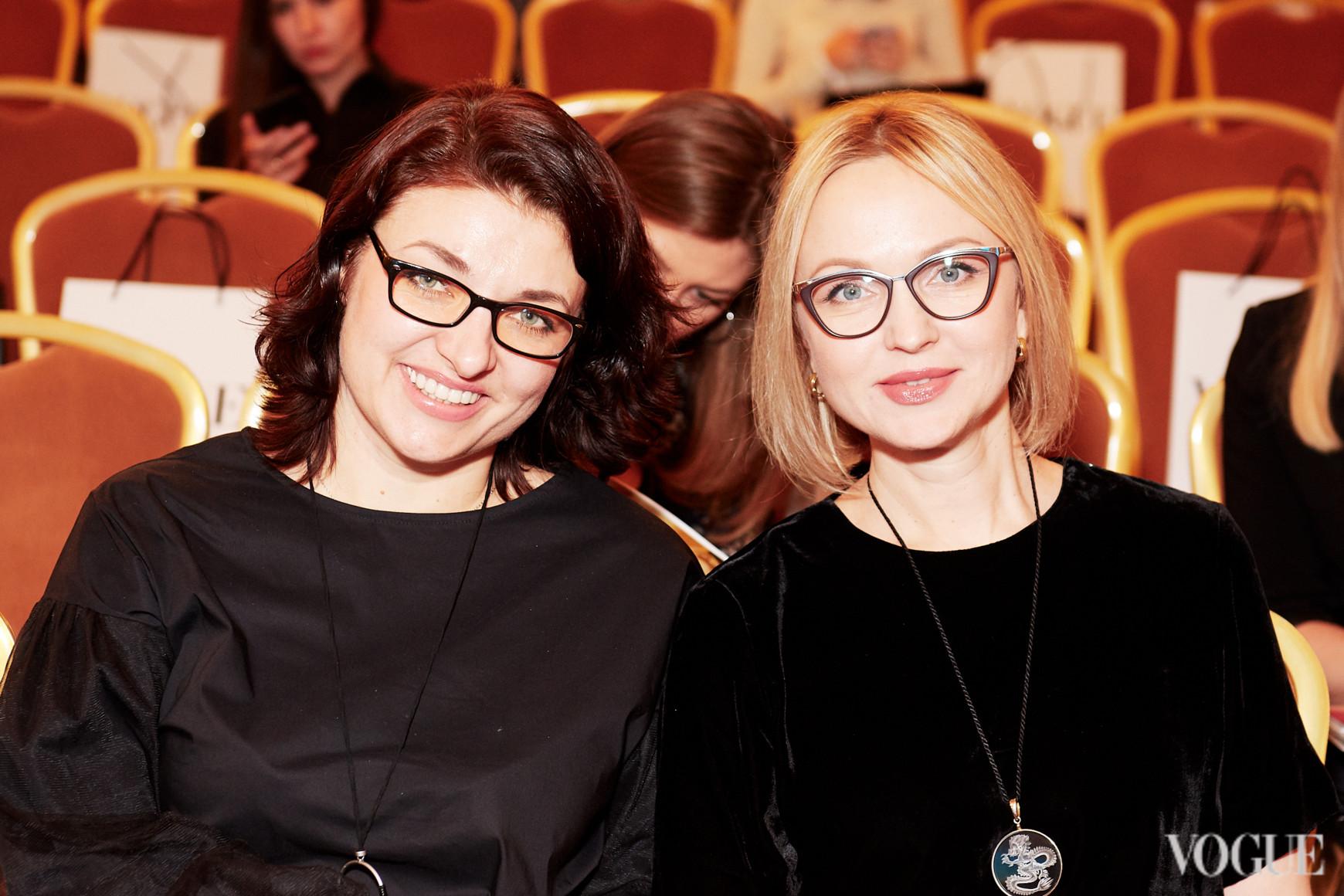 Марина Соловьева и Елена Ева