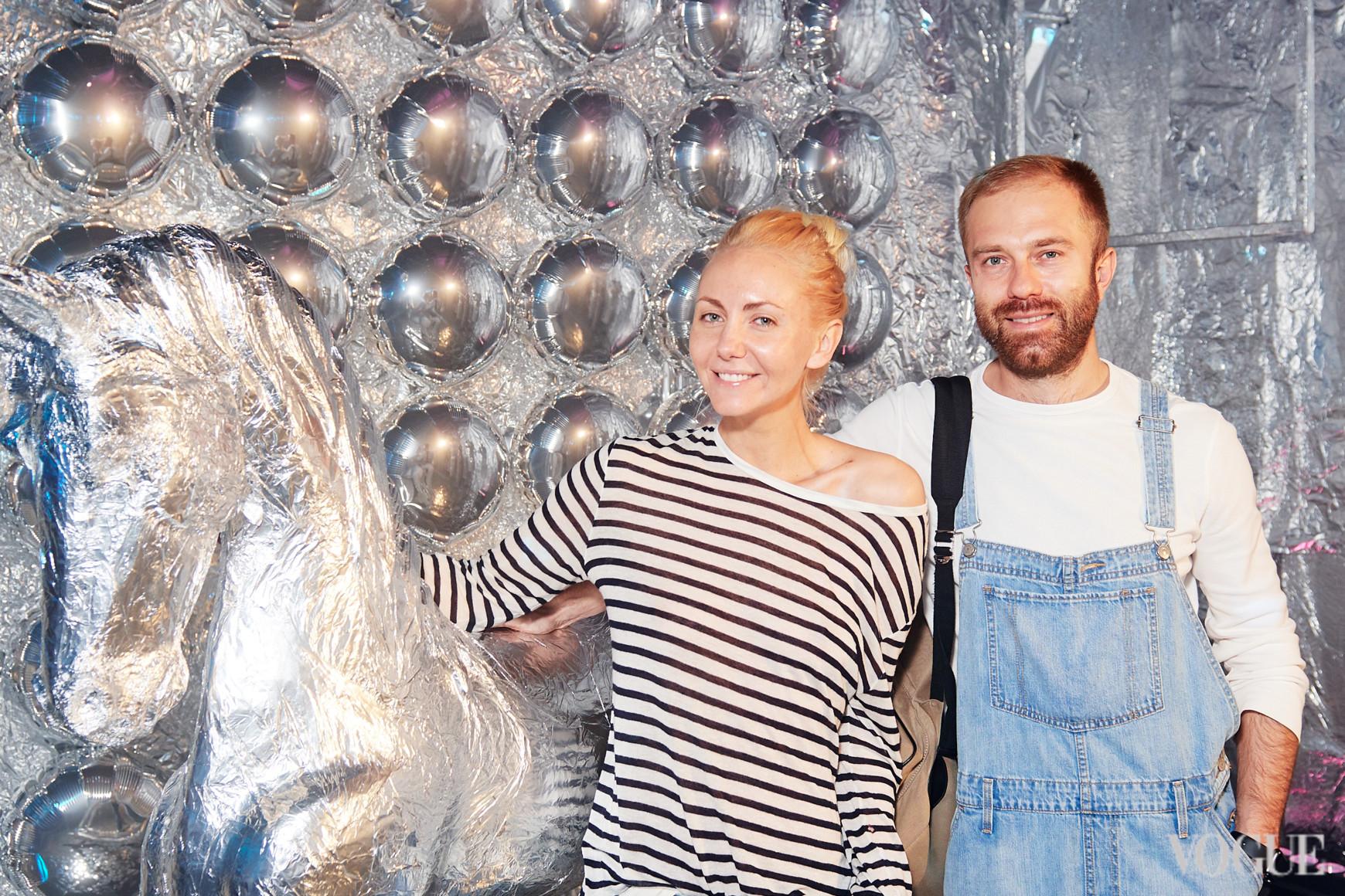 Алина Косичкина и Дмитрий Заходякин