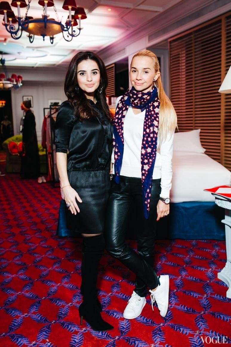 Фаина Тедеева и Ирина Турбаевская