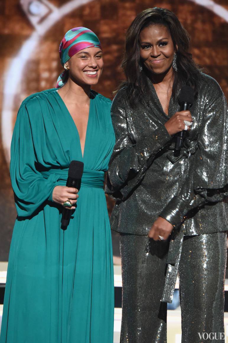 Алішія Кіс і Мішель Обама в Sachin & Babi