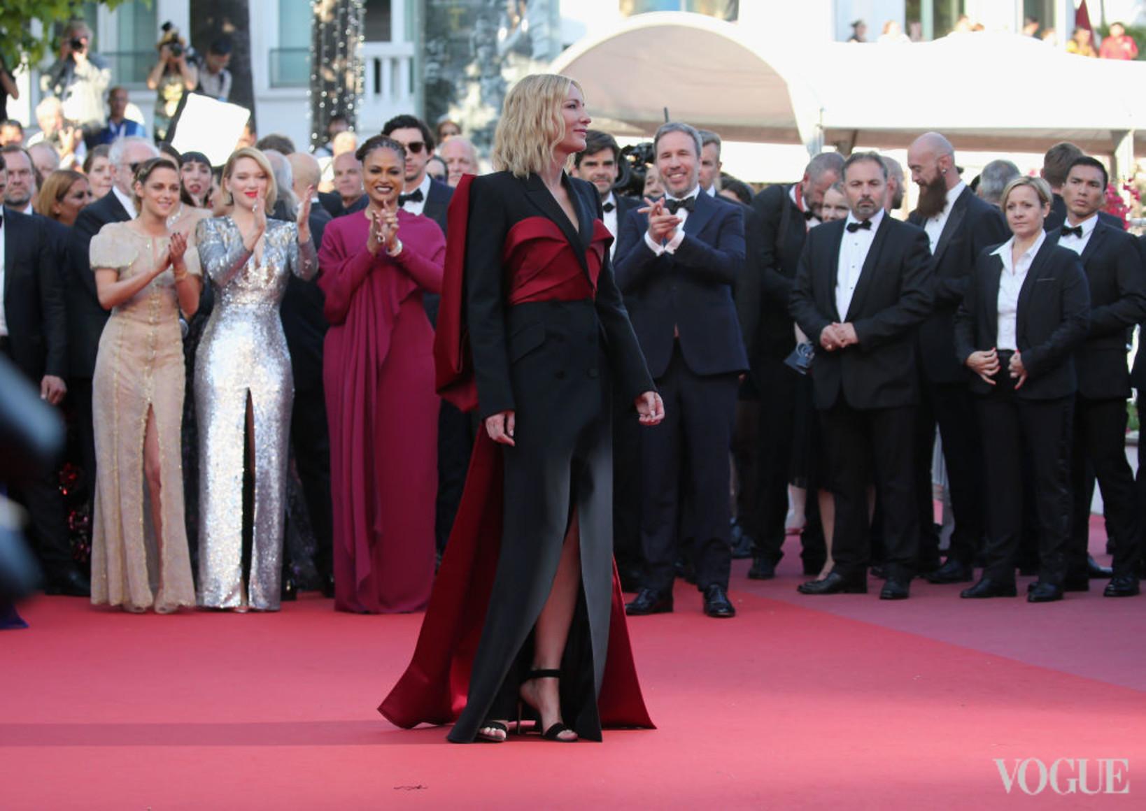 Кейт Бланшетт в Alexander McQueen