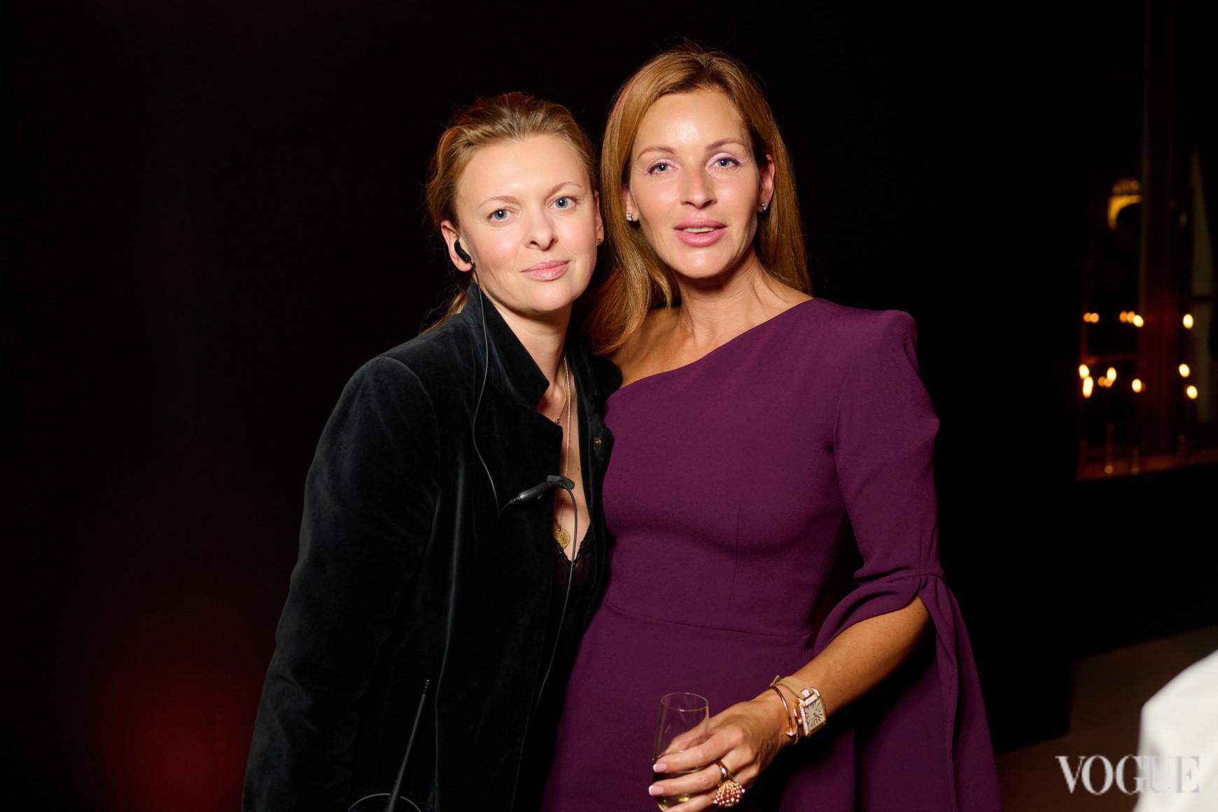 Ирина Матейкович и Елена Щекатурова