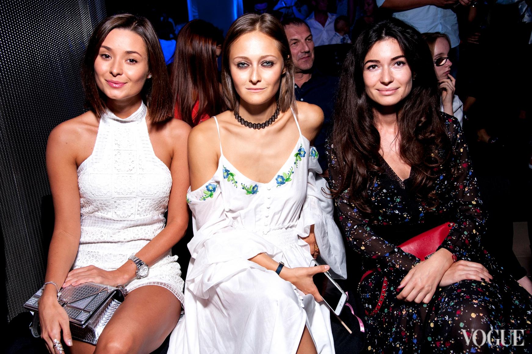 Зоя Литвин, Дарья Шаповалова и Александра Червоненко