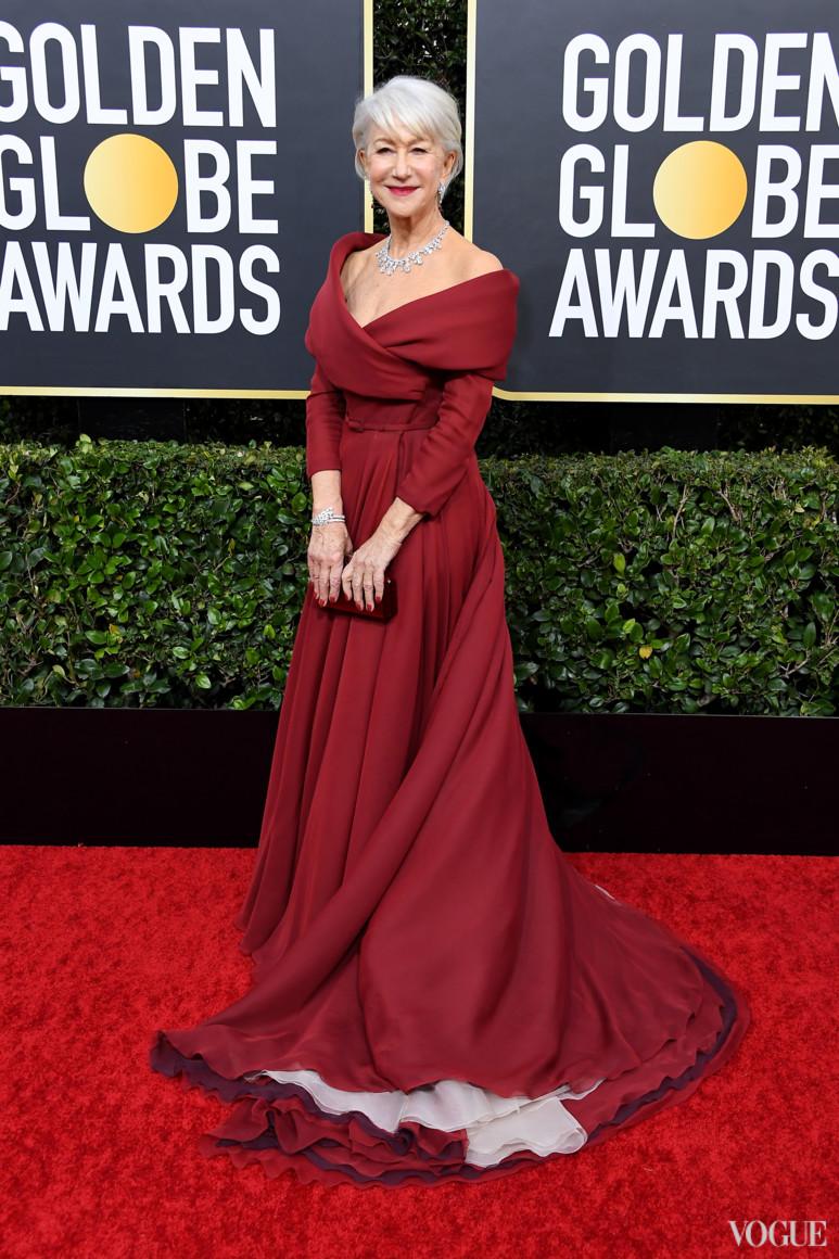 Хелен Миррен в Christian Dior