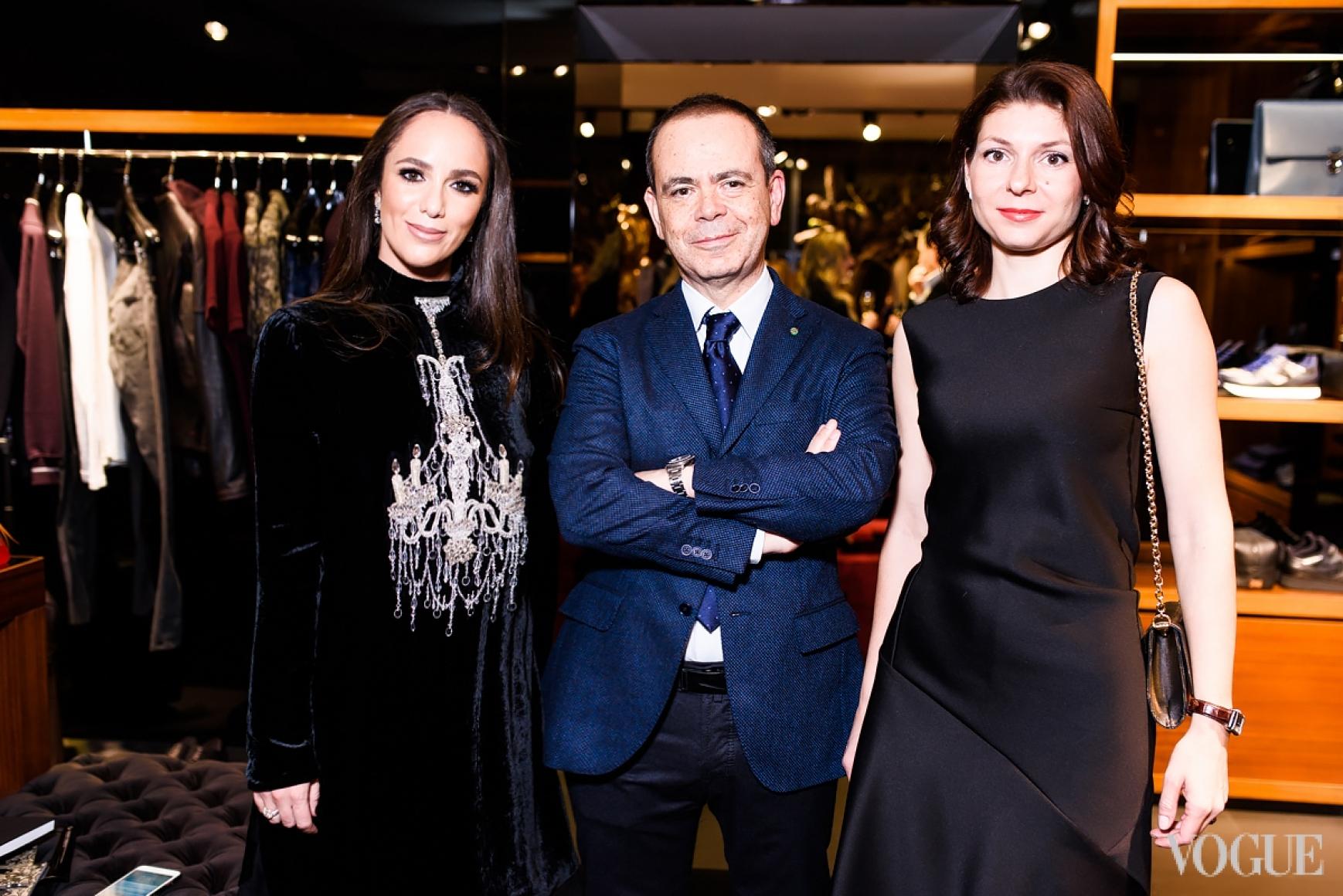 Катя Вербер-Миндич, Посол Италии в Украине Давиде Ла Чечилия с супругой Валентиной